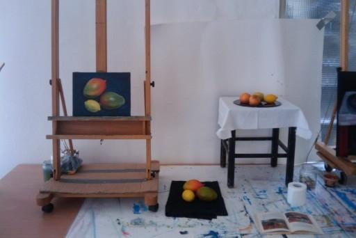Stilleven fruit, praktijksituatie